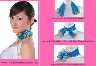 小方丝巾的系法_各种水龙头拆卸图解 水龙头如何更换-爱华网