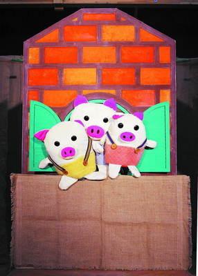 经典英语童话《三只小猪》 童话故事三只小猪