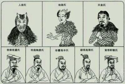 """三皇五帝是中国在夏朝以前出现在传说中的""""帝王"""" 三皇五帝sohu"""