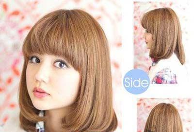 大圆脸适合什么发型 大圆脸适合发型解析 大圆脸适合什么发型