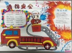 关于消防的手抄报图片 关于消防安全的手抄报