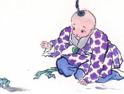 儿童中国画图片 古代儿童中国画图片