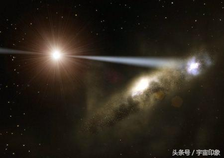 人类太渺小:110亿光年外发现巨宇宙网 每个节点装下一团星系