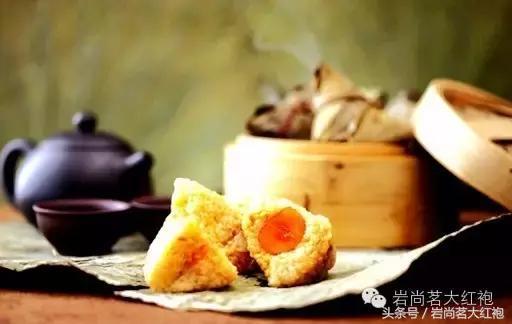 當粽子邂逅巖茶