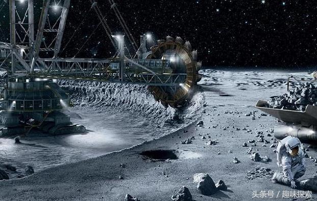 50年内亿万富翁将来自太空采矿行业,地球商业经济扩大到太阳系